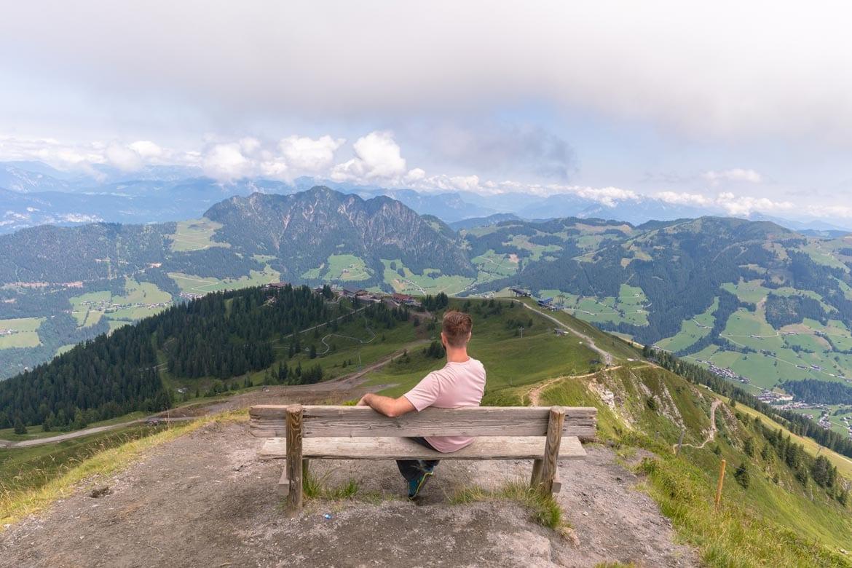 hiking in alpbach