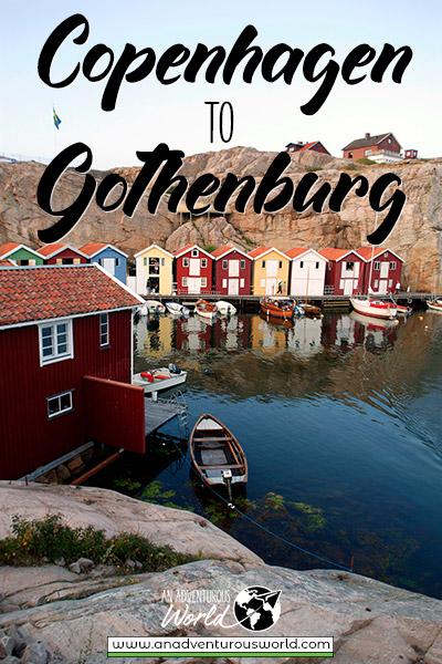 How to get from Copenhagen to Gothenburg