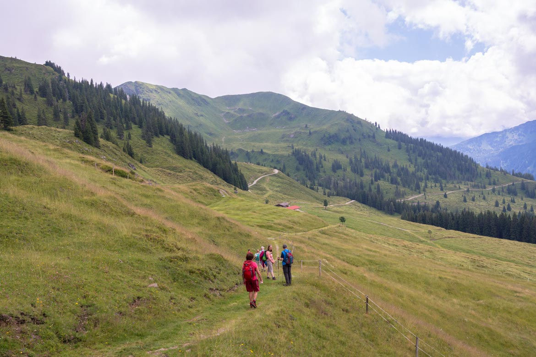 hiking in tirol austria