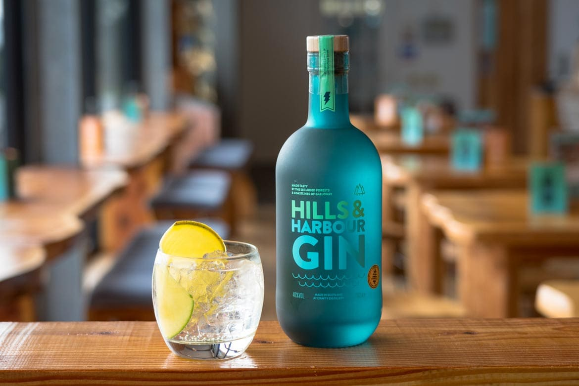 hills and harbour gi, crafty distillery