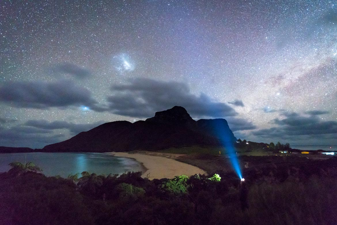 night photography lord howe