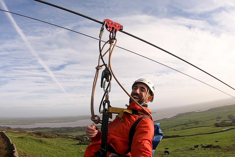 ziplining in scotland