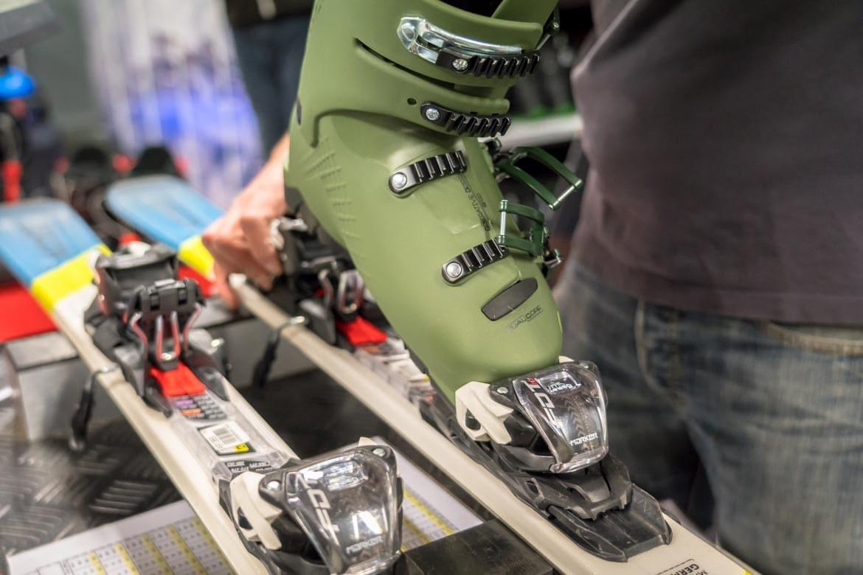 returning ski boots