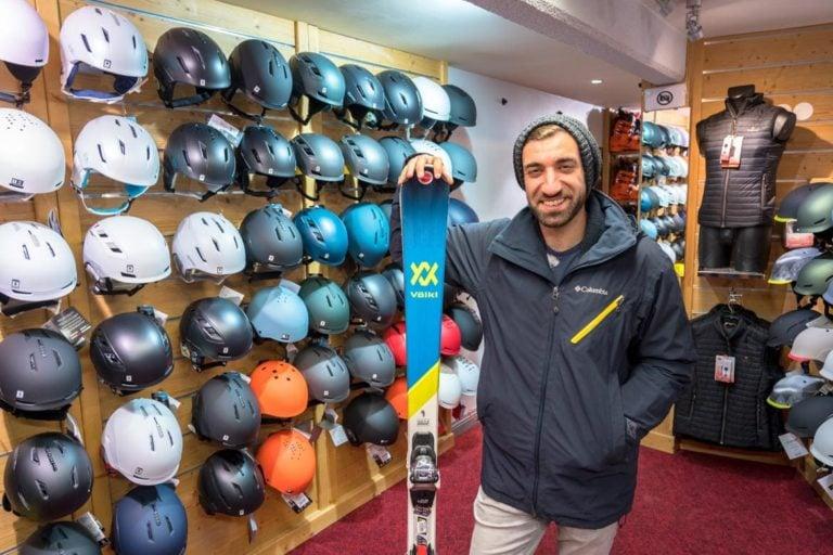 ski hire in val thorens