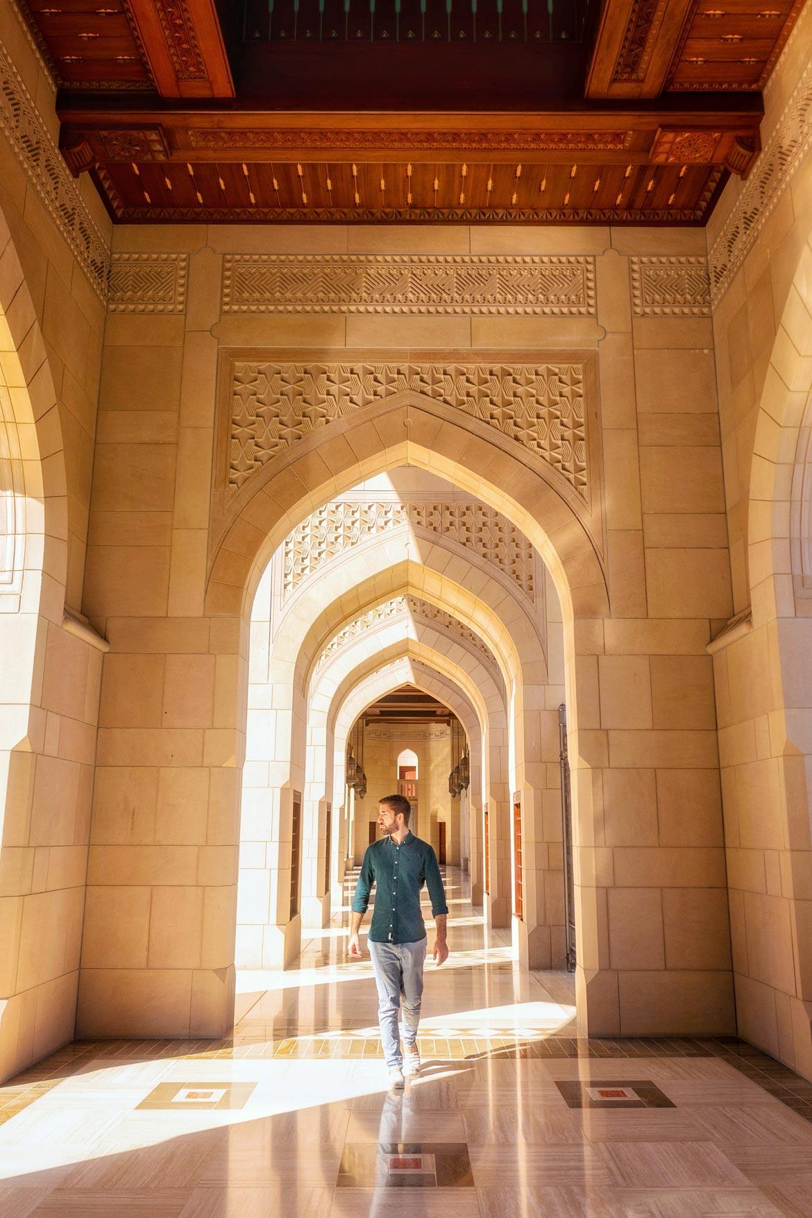 visiting sultan qaboos grand mosque
