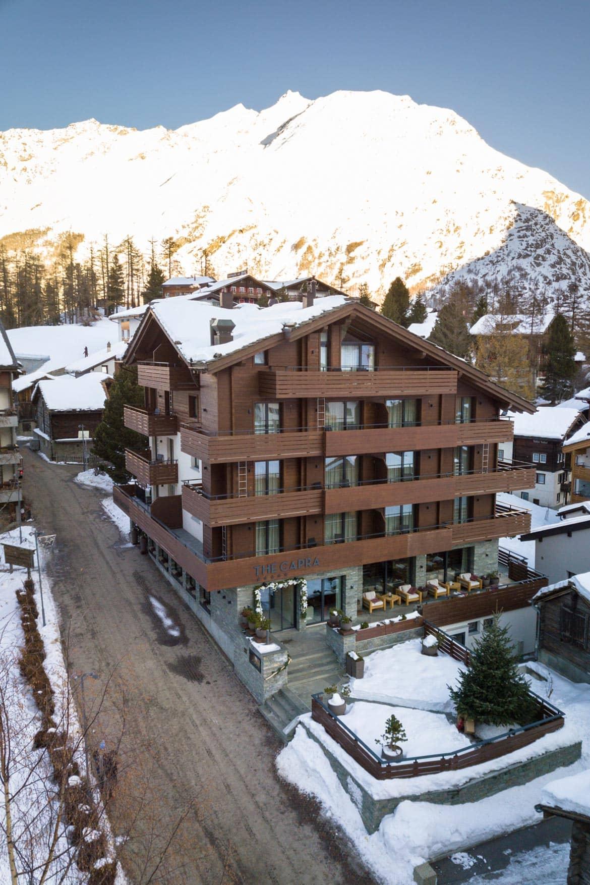 the capra hotel saas fee