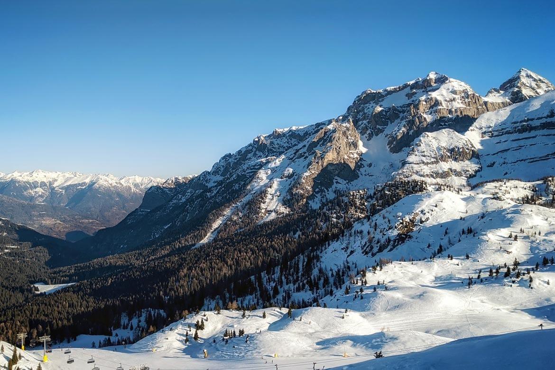 best skiing in trentino