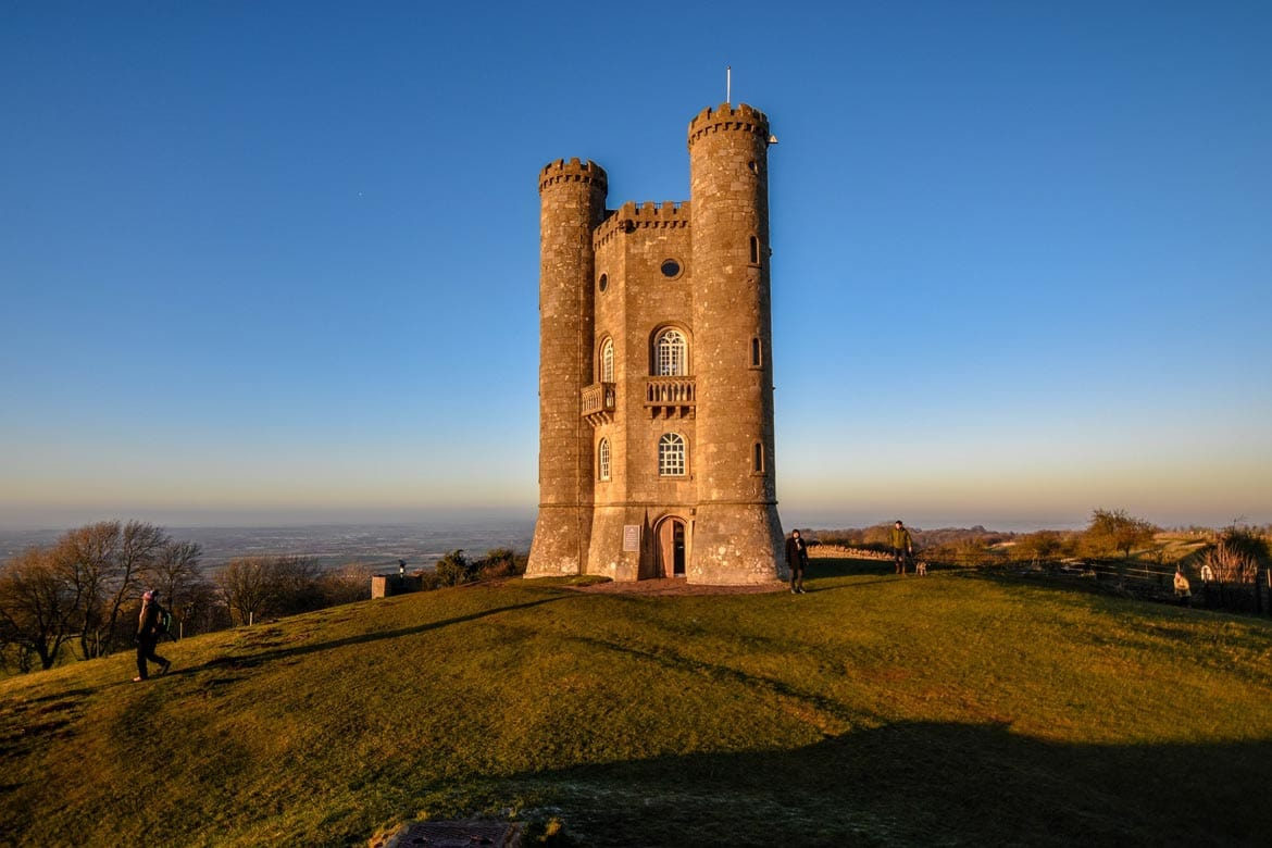 broadway tower in the cotswolds