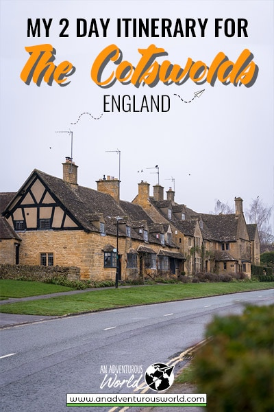 My Itinerary for 2 Days in the Cotswolds, England