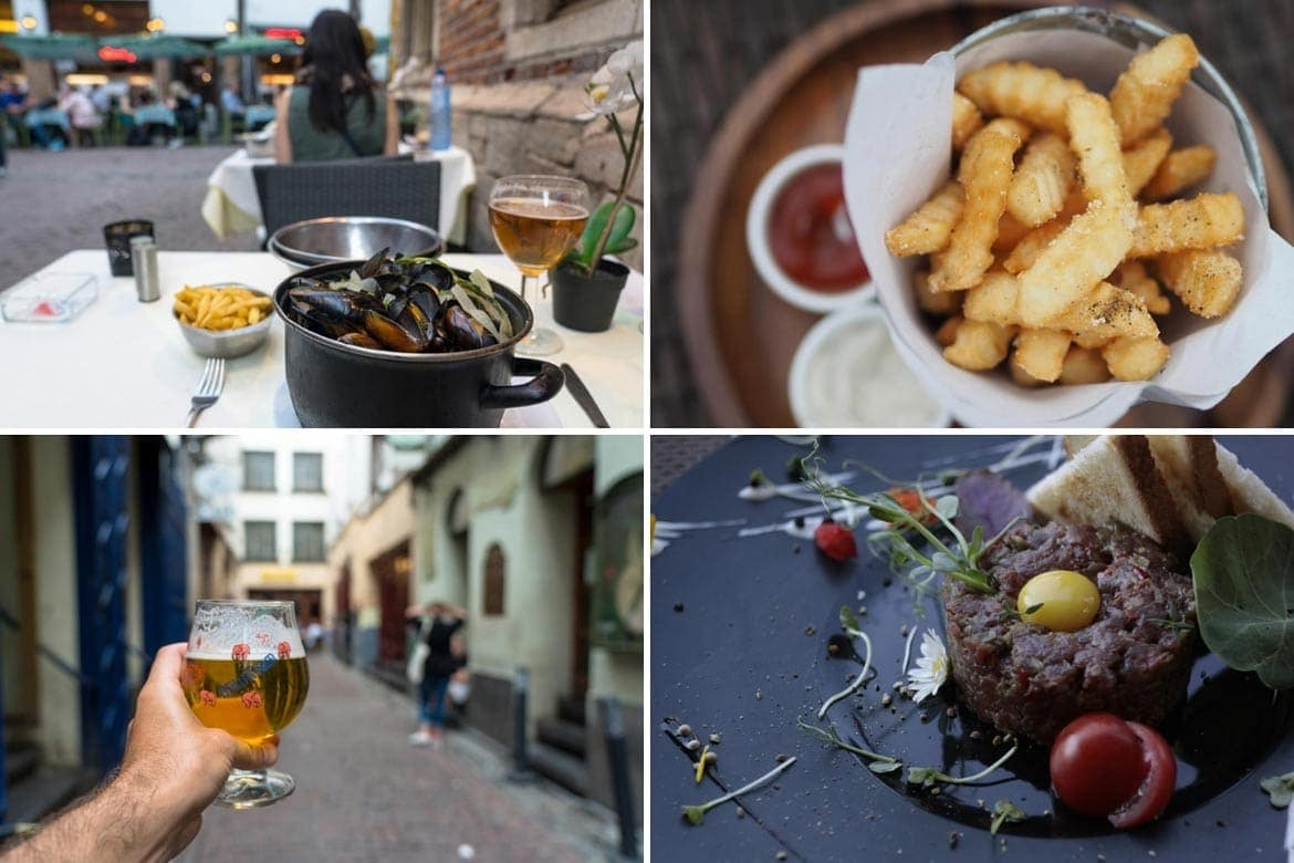 what to eat in brussels