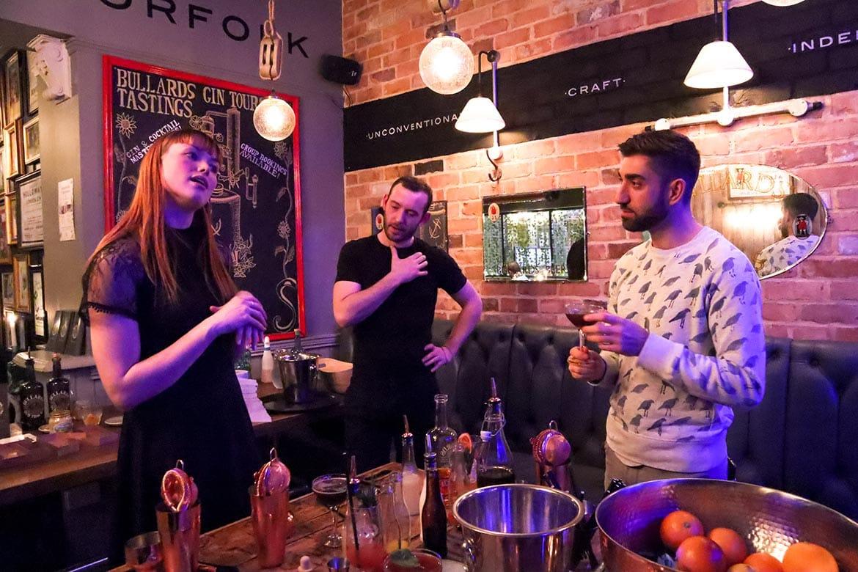 bullards gin masterclass