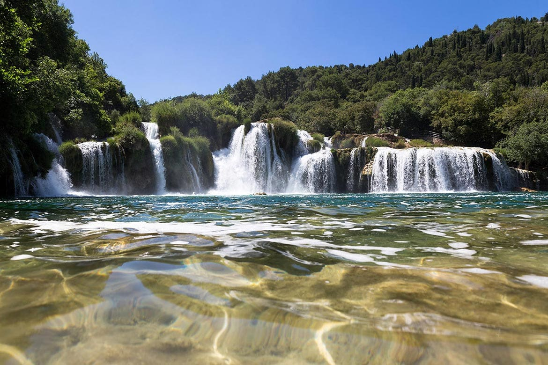 krkr naional park croatia