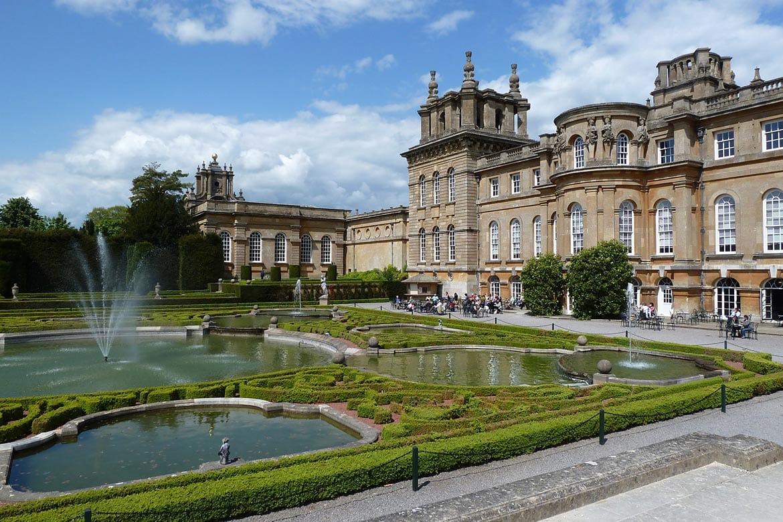 blenheim palace cotswolds