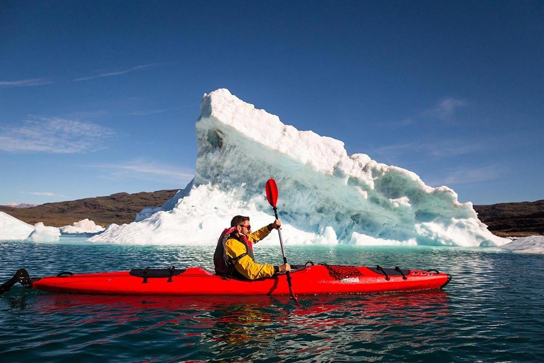 iceberg kayaking