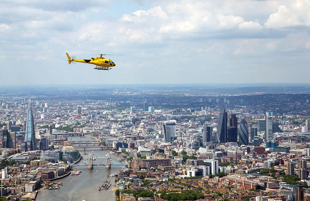 london helicopter experience