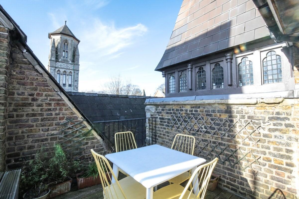 church tower london