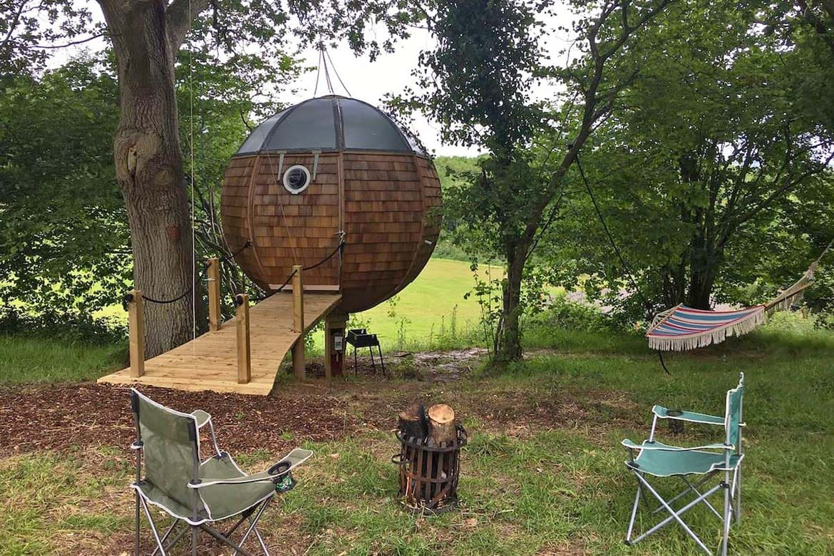 quirky places to stay in the uk