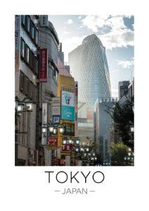 tokyo travel print