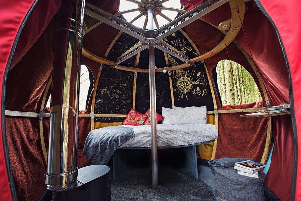 unique airbnbs uk