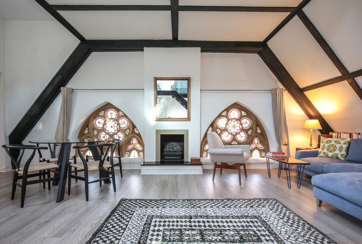 unusual london airbnb