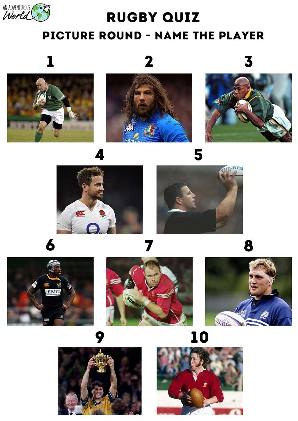 rugby players quiz