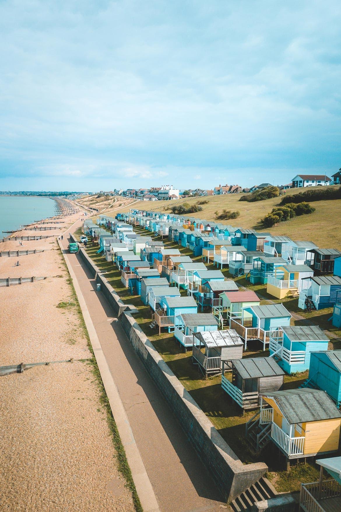 beach huts england