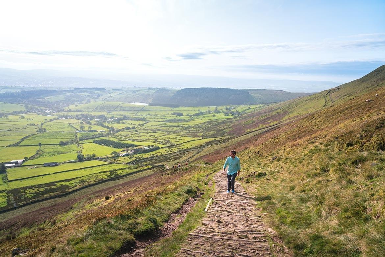 pendle hill walk