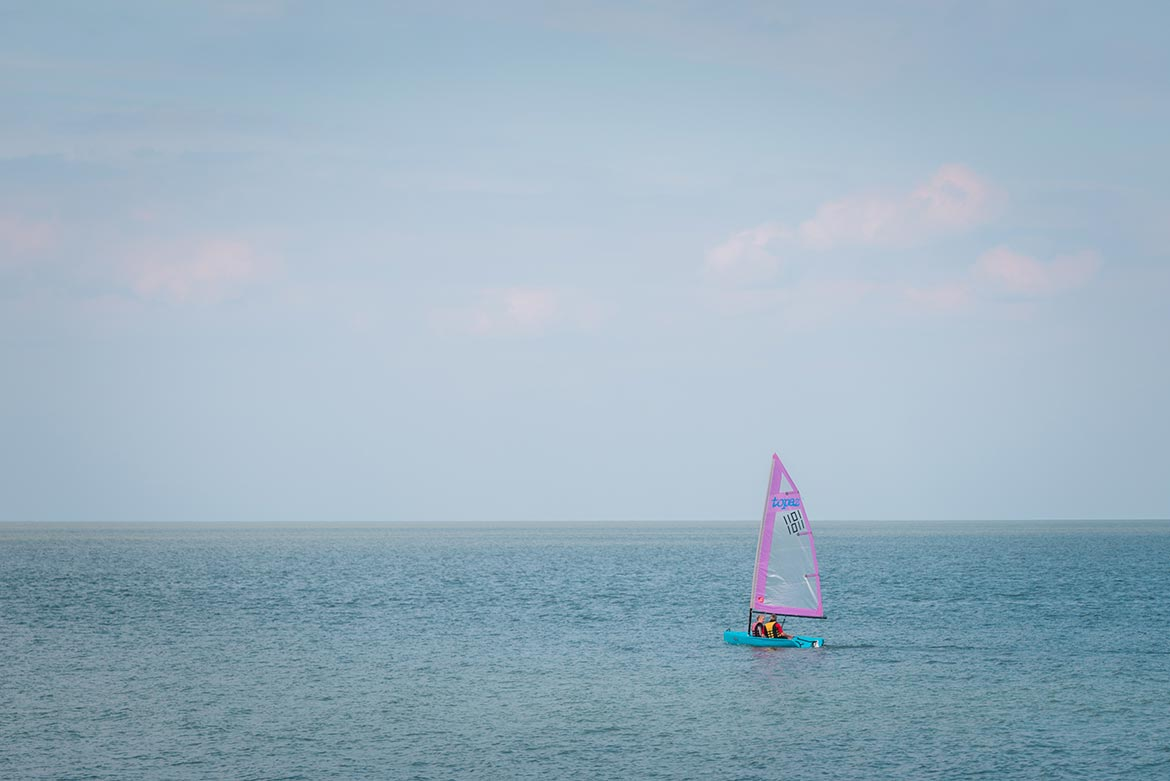 sailing in whitstable