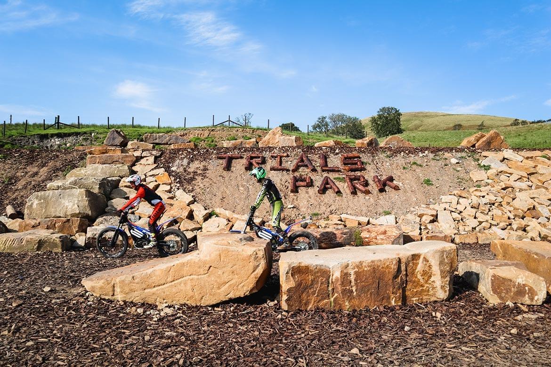trial biking lancashire