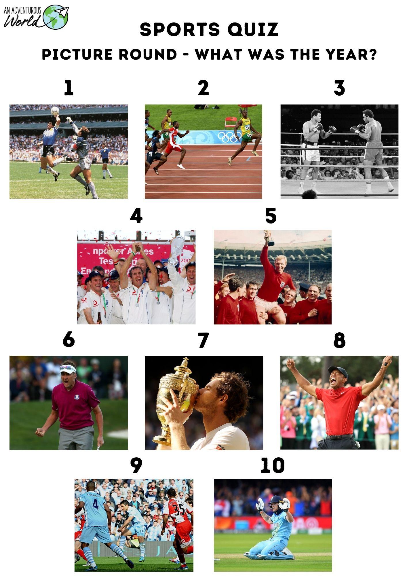 sports trivia game