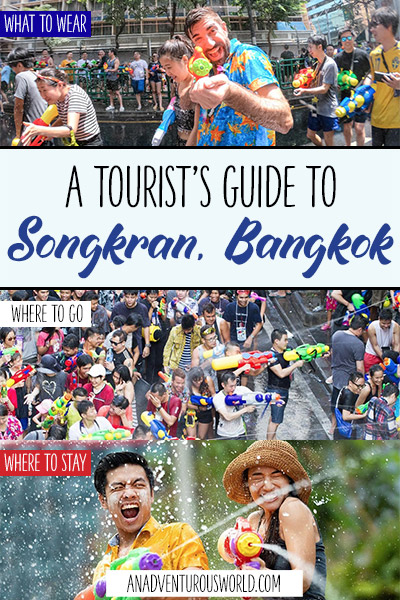 A Tourist's Guide to Songkran Water Festival in Bangkok, Thailand