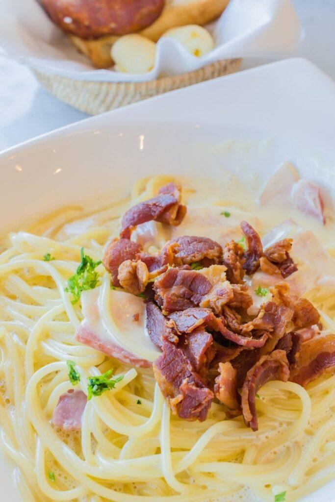 pasta in rome