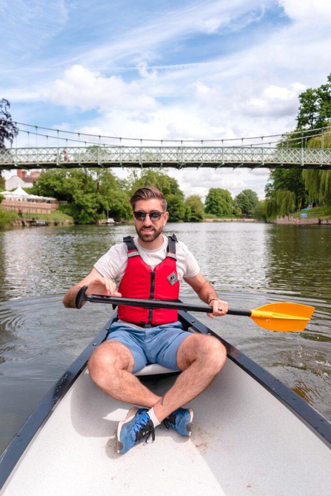 hire a canoe shrewsbury