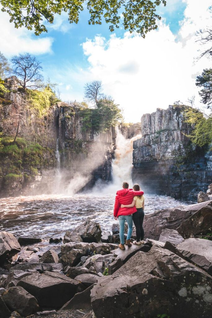 visiting high force waterfall