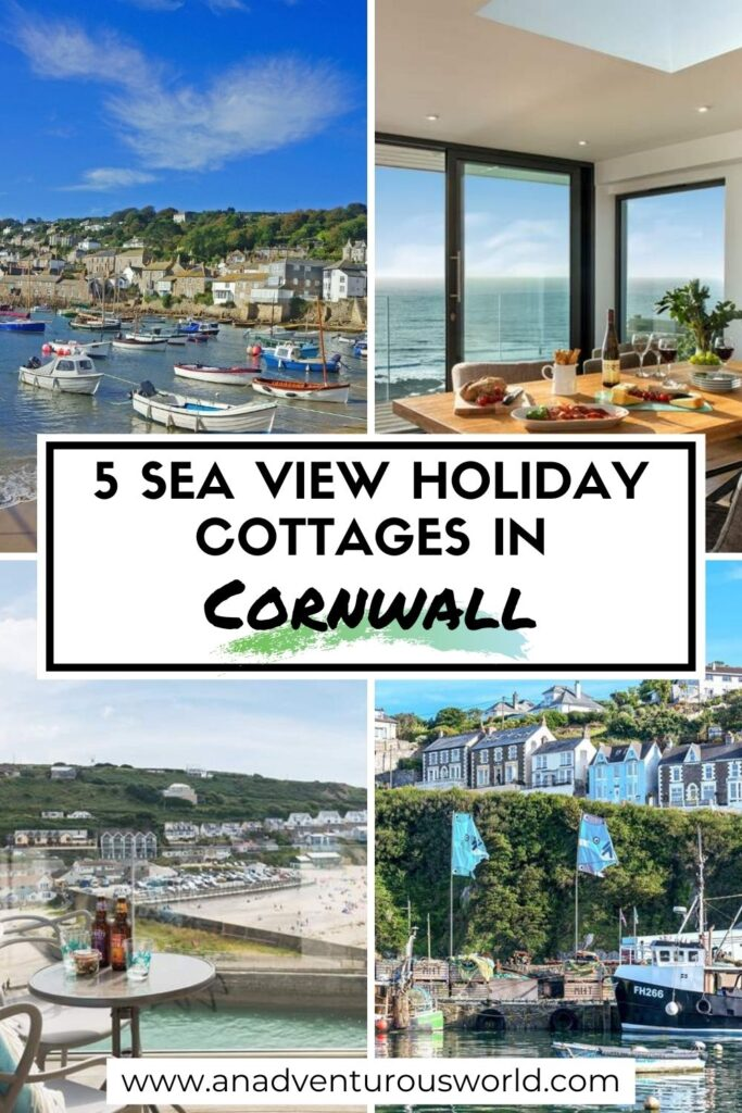 5 Sea View Holiday Cottages in Cornwall, England