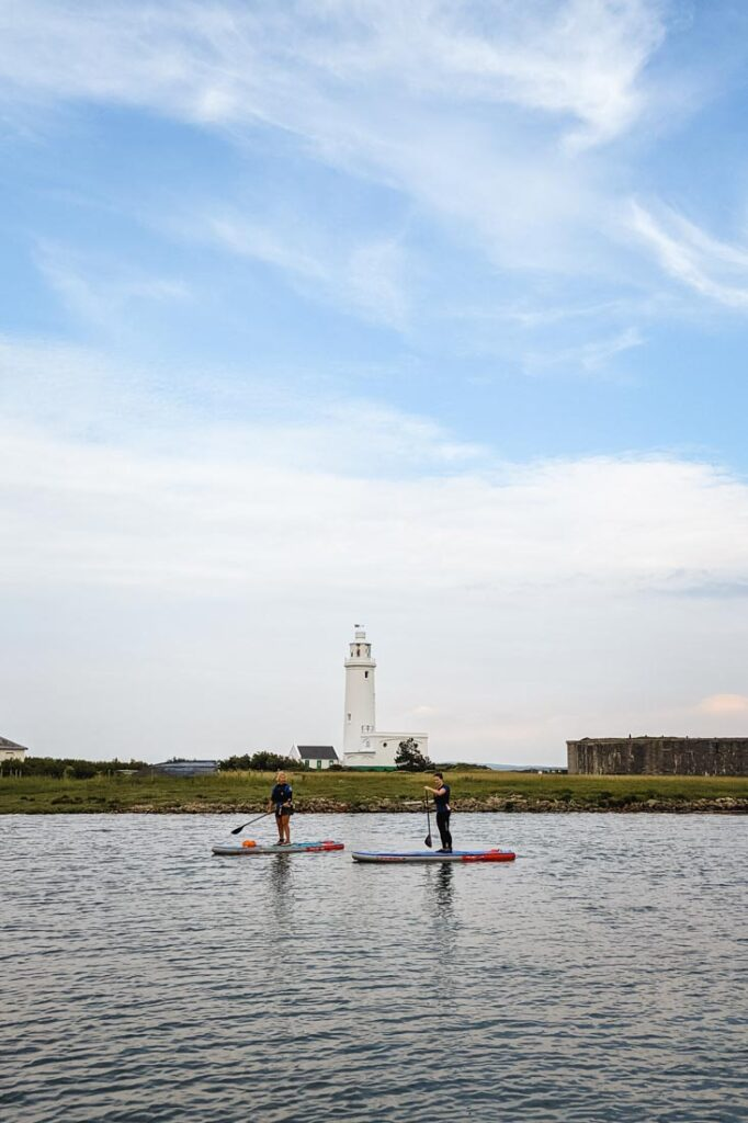 paddleboarding keyhaven