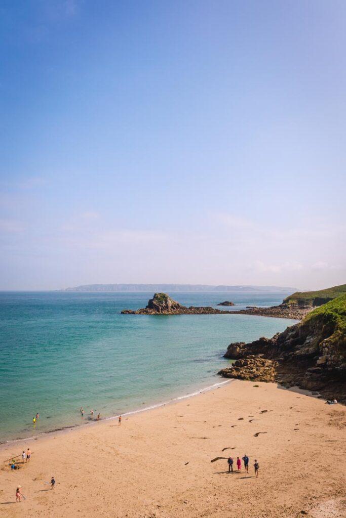herm island beaches